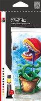 """Акварелни бои - High By Fly - Комплект от 12 цвята х 12 ml от серията """"Graphix"""""""