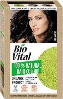 Натурална боя за коса - очна линия