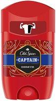 """Old Spice Captain Deodorant Stick - Стик деодорант за мъже от серията """"Captain"""" - продукт"""