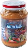 Ganchev - Пюре от телешко месо с картофи и домати - Бурканче от 190 g за бебета над 4 месеца -