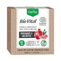 """Натурален дневен стягащ крем за лице 45+ - За суха кожа от серията """"Bio Vital"""" - балсам"""