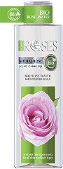 """Nature of Agiva Bio Rose Water - Био розова вода от серията """"Roses"""" - паста за зъби"""