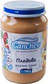 Ganchev - Млечна каша с плодове - Бурканче от 190 g за бебета над 4 месеца -