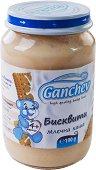 Ganchev - Млечна каша с бисквити - Бурканче от 190 g за бебета над 4 месеца -