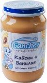 Ganchev - Млечна каша с кайсии и ванилия - Бурканче от 190 g за бебета над 4 месеца -