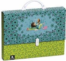 Папка тип куфарче - Oh La La Coquette - Размер 35 x 28 cm