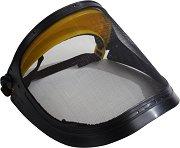 Предпазна маска за лице със стоманена мрежа