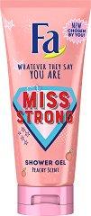 Fa Miss Strong Shower Gel - Душ гел с аромат на праскова -