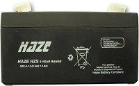 HZS6-1.3 6 V / 1.3 Ah - Оловно-киселинна батерия с размери 98 / 25 / 52 mm -
