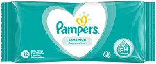 Pampers Sensitive Baby Wipes - балсам