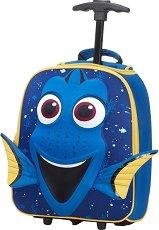 """Детски куфар на колелца - Дори - От серията """"Disney Ultimate"""" -"""