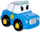 """Полицейска кола - Бебешка играчка от серията """"ABC"""" - несесер"""
