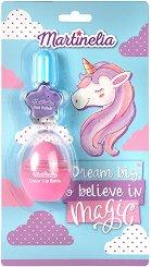 Детски подаръчен комплект - Dream Big & Believe In Magic - Балсам за устни и лак за нокти - продукт