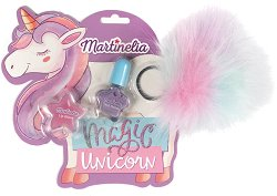 Детски подаръчен комплект - Magic Unicorn - Гланц за устни и лак за нокти - продукт