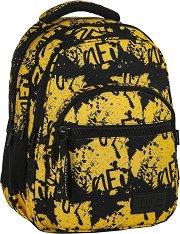 Ученическа раница - Back Up: M 43 - Комплект със слушалки - раница