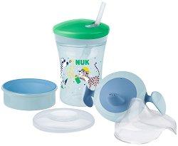 Неразливаща се чаша 3 в 1 - Evolution Cup Learn to Drink Set 230 ml - За бебета над 6 месеца -