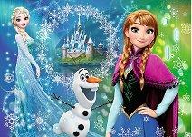 Замръзналото кралство - Сестри - пъзел