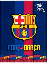 Папка с ластик - Барселона - Формат A4