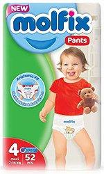 Molfix Pants 4 - Maxi - Гащички за еднократна употреба за бебета с тегло от 7 до 14 kg -