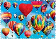 Цветни балони - пъзел