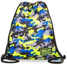 Спортна торба - Sprint Line: Camo Fusion Yellow - раница