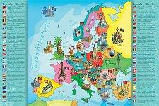 Карта на Европа -
