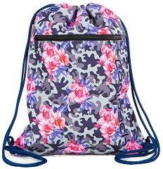 Спортна торба - Vert: Camo Roses - раница