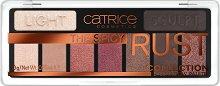Catrice The Spicy Rust Eyeshadow Pallete - Палитра с 9 цвята сенки за очи -