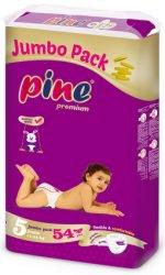 Pine Premium 5 - Junior - Пелени за еднократна употреба за бебета с тегло от 11 до 25 kg -