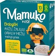 Mamuko - Био безмлечна пълнозърнеста каша с овес, зелена елда и ечемик -