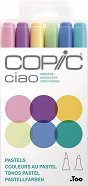"""Двувърхи маркери - Ciao Pastels - Комплект от 6 цвята от серията """"Ciao"""""""
