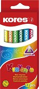 Пастели - Krayones - Комплект от 12 цвята
