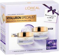 Подаръчен комплект - L'Oreal Hyaluron Specialist - продукт