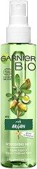"Garnier Bio Argan Face Mist - Подхранващ био спрей за лице с арган от серията ""Garnier Bio"" - продукт"