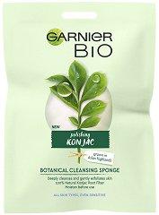 Garnier Bio Konjac Botanical Cleansing Sponge - Конджак гъба за почистване на лице - продукт