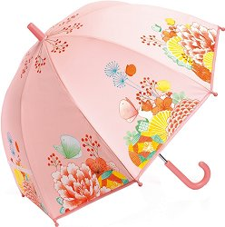 Детски чадър - Цветна градина - детски аксесоар