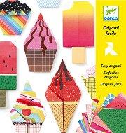Оригами - Сладкиши - Творчески комплект - детски аксесоар