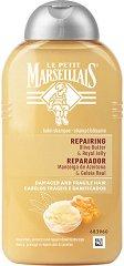 Le Petit Marseillais Repairing Olive Butter & Royal Jelly Balm Shampoo - Шампоан за увредена коса с масло от маслина и пчелно млечице - шампоан