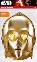 """Маска - C-3PO - Парти аксесоар от серията """"Междузвездни войни"""" -"""