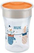 """Преходна чаша 360° - Snow 230 ml - За бебета над 8 месеца от серията """"Magic Cup"""" -"""