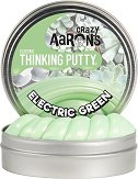 """Антистрес желе - Electric Green - От серията """"Crazy Aaron's"""" -"""