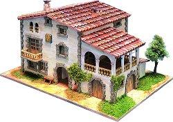 Къща - Emporda - Детски сглобяем модел от истински тухлички - макет