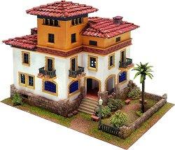 Къща - Хавана - Детски сглобяем модел от истински тухлички - макет
