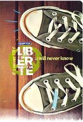 Ученическа тетрадка - Liberte : Формат А4 с широки редове - 60 листа -