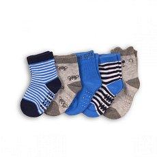 Бебешки чорапи - Комплект от 5 чифта -