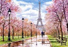 Романтична разходка в Париж - пъзел