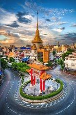 Чайнтаун в Банкок, Тайланд - пъзел