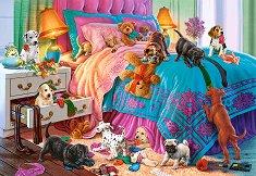 Пакостливи кученца - Стив Рийд (Steve Read) - пъзел