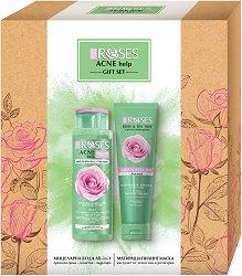 Nature of Agiva Acne Help Gift Set - Подаръчен комплект с козметика за лице - продукт