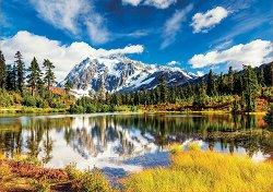 Планината Шуксан - пъзел